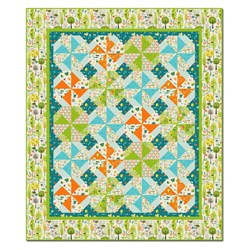 Happier than Happy Lap Size Quilt Kit - Last One!