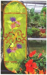 August Afternoon Runner Wool Applique Kit