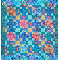 Moons Over Bali Surprise Quilt Kit
