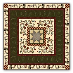 """Believe""  Quilt Kit by Janet Nesbit - Believe Colection by Henry Glass Fabrics"