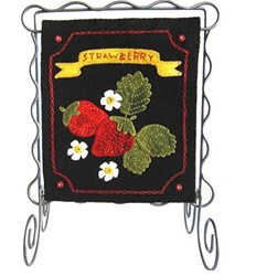 Bitty Banner Wool Applique - June Kit