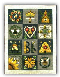Last One!  Blessed Bee Block of the Month or All at Once<br>Join Anytime!