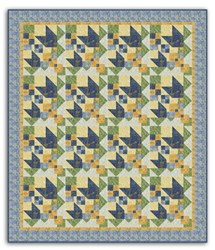 Kaleidoscope Tulips Quilt Pattern Download
