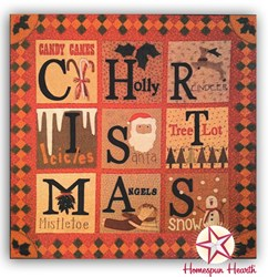 Christmas Traditions Wool Applique Block of the Month - Start Anytime!