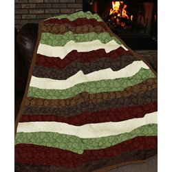 Christmas Snuggler Minky Quilt Kit