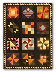 Civil War Wool Applique Block of the Month<br><i>Start Any Time!</i>
