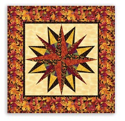 National Marooned Without a Compass Day - Homespun Hearth to the Rescue Wallhanging Pattern Download