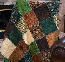 Deer Creek Woodland Snuggler Quilt Kit