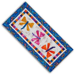 Mother's Day 2012 Exclusive - Flittering Dragonflies Wall Hanging/Table Runner Pattern Download