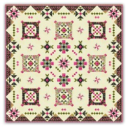 Soft Elegance King Sized Block of the Month or All at Once Quilt