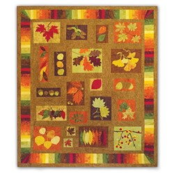 Equinox Batik Quilt Kit Block of the Monthor  All at Once Quilt Kit - Start Anytime!