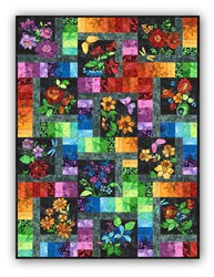 New!  Floragraphix Batik - Original - Block of the Month or All at Once - Starts January 2019!