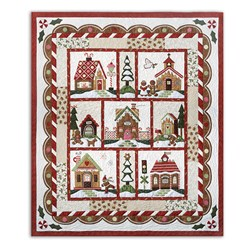 Gingerbread Village Block of the Month or All at Once is Back!