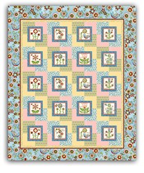 Cottage Charm Harmony Quilt Pattern Downloard