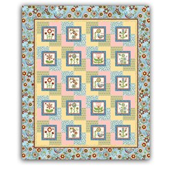 Cottage Charm Harmony Quilt Pattern Download
