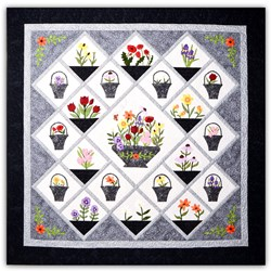 Hattie's Garden Block of the Month or All at Once <br>Starts September