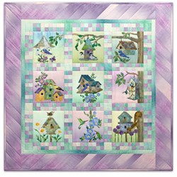 Home Tweet Home Complete Quilt Kit