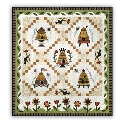 Honey Bee Lane Quilt Block of the Month or All at Once - Start Anytime