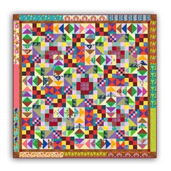 "Batiks  Fabric Explosion Bundle & Bonus ""Left Over's Anyone"" Pattern"