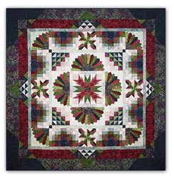 Tonga Lush Batik King Sized Block of the Month or All at Once by Wing and a Prayer - Start Anytime!