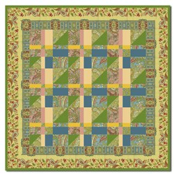 Magic Carpet Ride Wallhanging Quilt Kit