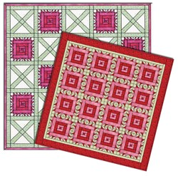 May Customer Appreciation Garden - Carnation Full Quilts Download
