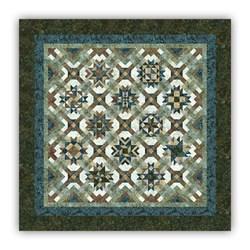 Mineral Matrix Tonga Batiks  King Sized Block of the Month or All at Once by Wing and a Prayer! - Starts June!