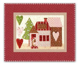 <I>LAST ONE!</I> Mistletoe Lane Complete Wall Hanging/Table Mat Kit - Orphan Block #1