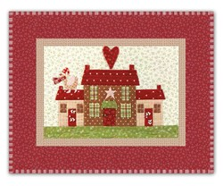 Mistletoe Lane Complete Wall Hanging/Table Mat Kit - Orphan Block #11