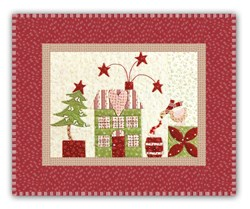 Mistletoe Lane Complete Wall Hanging/Table Mat Kit - Orphan Block #12