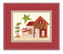 <I>LAST ONE!</I>Mistletoe Lane Complete Wall Hanging/Table Mat Kit - Orphan Block #3