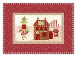 <I>LAST ONE!</I>Mistletoe Lane Complete Wall Hanging/Table Mat Kit - Orphan Block #5
