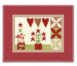 <I>LAST ONE!</I>Mistletoe Lane Complete Wall Hanging/Table Mat Kit - Orphan Block #6
