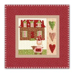 Mistletoe Lane Complete Wall Hanging/Table Mat Kit - Orphan Block #9