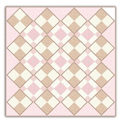 Softly Romantic Quilt Pattern Download and Optional Kit