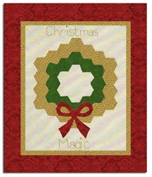 Christmas Magic Pattern with Paper Piece Templates <br>by Patchwork With Busy Fingers