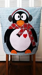 Penguin Chair Cover Pattern by Cut Loose Press