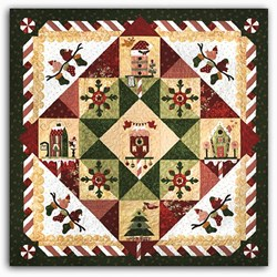 Peppermint Place  All At Once Quilt Kit