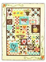 Piece, Love, & Applique Block of the Month or All at Once, with Optional Swarovski Bling Pack!
