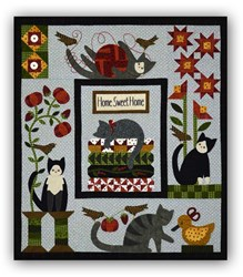Purrfectly Pieced Complete Quilt Kit by Bonnie Sullivan<br>Start Anytime!