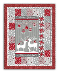 Reindeer Merriment Quilt Kit