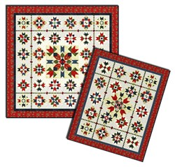 Women of the American Revolution Sampler Quilt Pattern Downlload Sampler Pattern Set Download