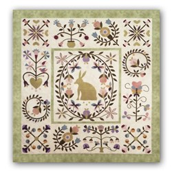Rhapsody Cotton Applique Block of the Month or All at Once  Starts August!