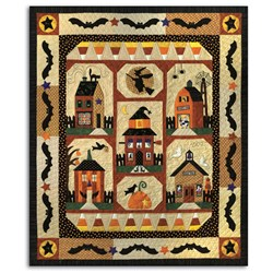 Sew Spooky Quilt All at Once Kit - EXACT FABRICS