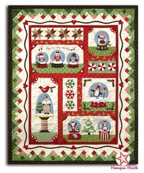 Snow Globe Village - All at Once Quilt Kit