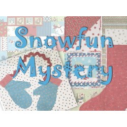 SNOWFUN Snuggler Mystery Flannel BOM or All at Once - Includes Backing!