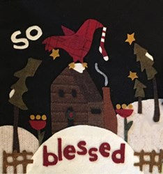 So Blessed Mystery Applique Block of the Month - Wool or Flannel!