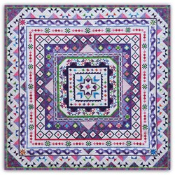 New!  Spring Jubilee Sampler Block of the Month or All at Once. <br>Starts June