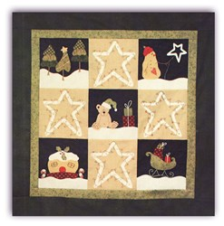 Starry Night Wall Hanging Pattern <br>by Fig 'n' Berry Creations