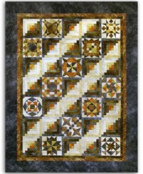 Stone Masons Stonehenge Queen Quilt Kit`